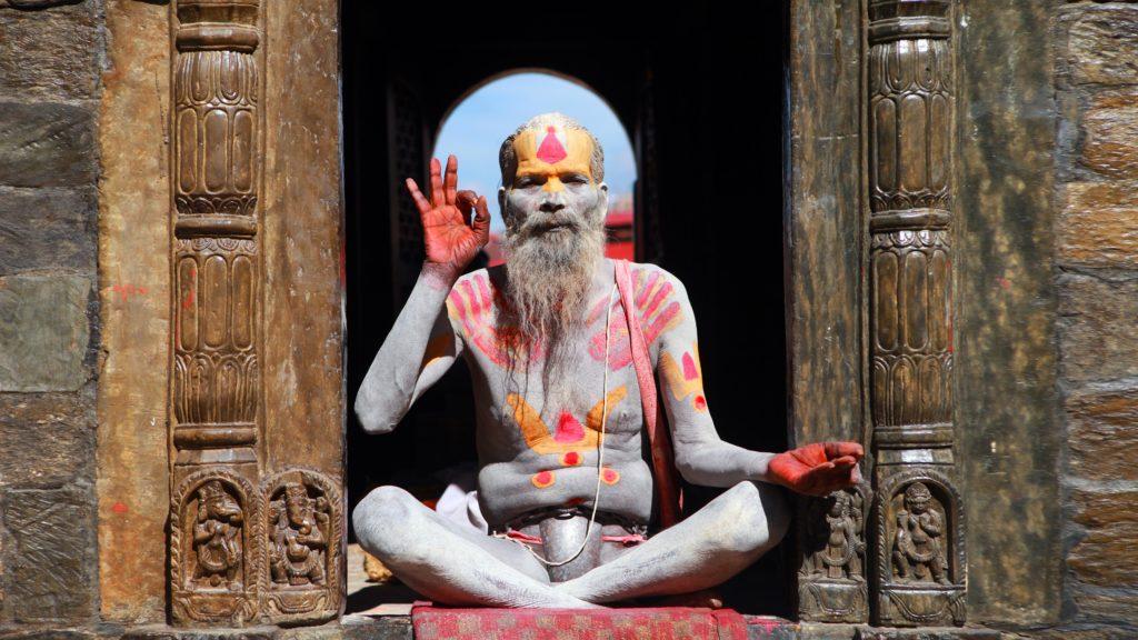 Ein indischer Guru