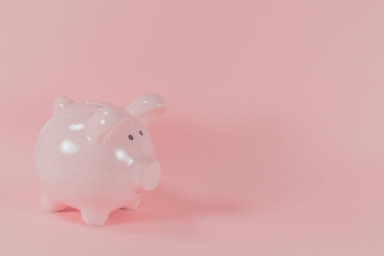 Pinkes Sparschwein