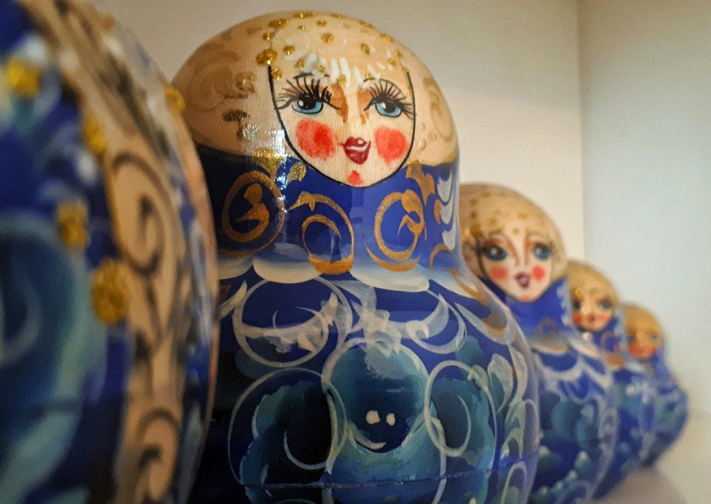 Matrjoschka Puppen