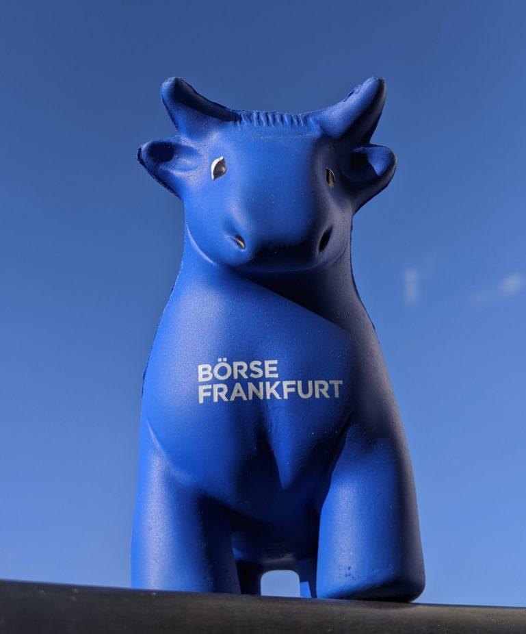 Bulle der Frankfurter Börse