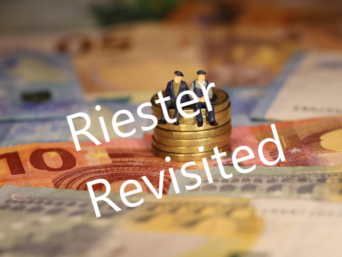 Riester Revisited